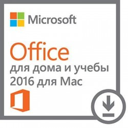 Microsoft Office Mac Home Student 2016 AllLng PKLic Onln CEE Only DwnLd C2R NR (ESD)