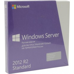 Windows Server Std 2012 R2 64Bit Russian Only DVD 5 Clt