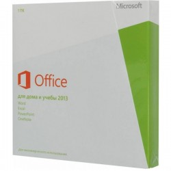 Microsoft Office 2013 BOX Home and Student x32/x64 Rus 79G-03740