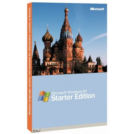 Microsoft Windows XP OEM Starter Edition Rus