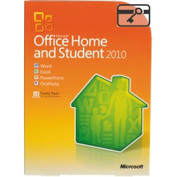 Microsoft Office 2010 ESD Home and Student x32/x64 RUS 79G-02142-LE