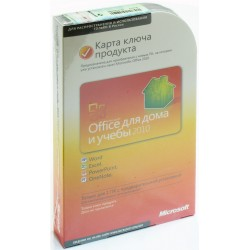 Microsoft Office 2010 Home and Student x32/x64 PKC Microcase RUS NO DVD 79G-02537 (79G-02142)