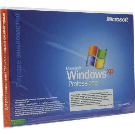 Microsoft Windows XP OEM Professional SP2/SP3 x32 Rus
