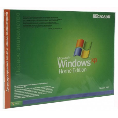 Microsoft Windows XP OEM Home Edition SP2/SP3 x32 Rus