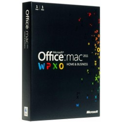 Microsoft Office 2011 Mac BOX Home and Business German