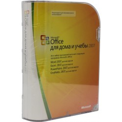 Microsoft Office 2007 BOX Home and Student x32 Rus 79G-00055