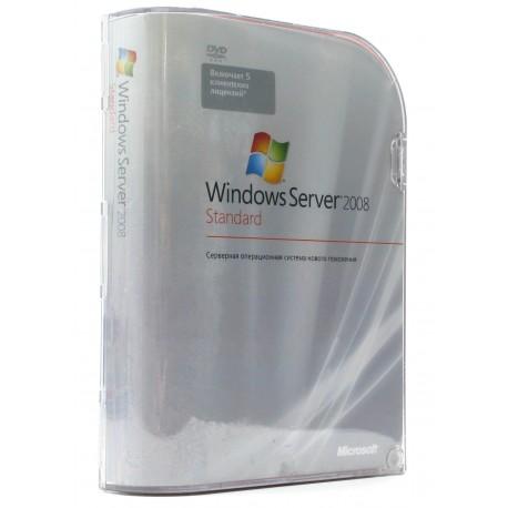 Windows Server 2008 BOX Standart Academic x32/x64Bit Russian Only DVD 5 Clt