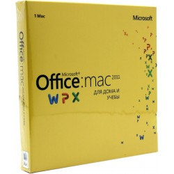 Microsoft Office 2011 Mac BOX Home and Student Rus