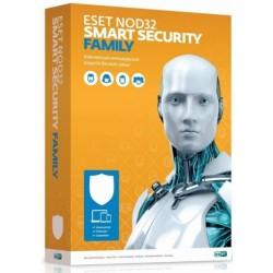 ESET NOD32 Smart Security Family - универсальная электронная лицензия на 1 год на 3 устройства NOD32-ESM-1220(EKEY)-1-3