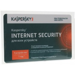 Kaspersky Internet Security Multi-Device Russian Edition. 1-Device 1 year Card