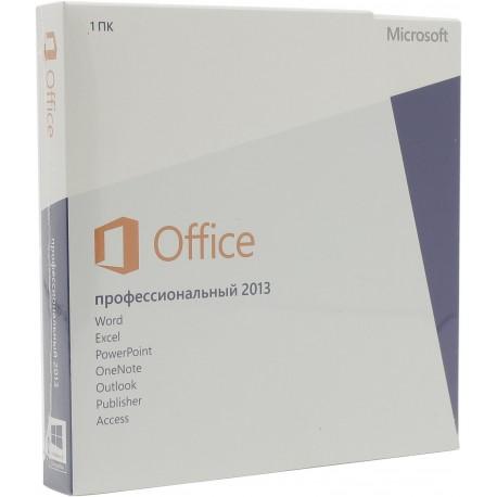 Microsoft Office 2013 BOX Professional x32/x64 Rus 269-16355