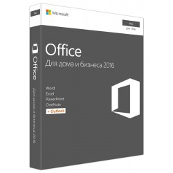 Microsoft Office 2016 Mac BOX Home and Business Rus W6F-00820/W6F-00613