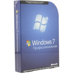 Microsoft Windows 7 BOX Professional коробочная SP1 DVD x32x64 COA