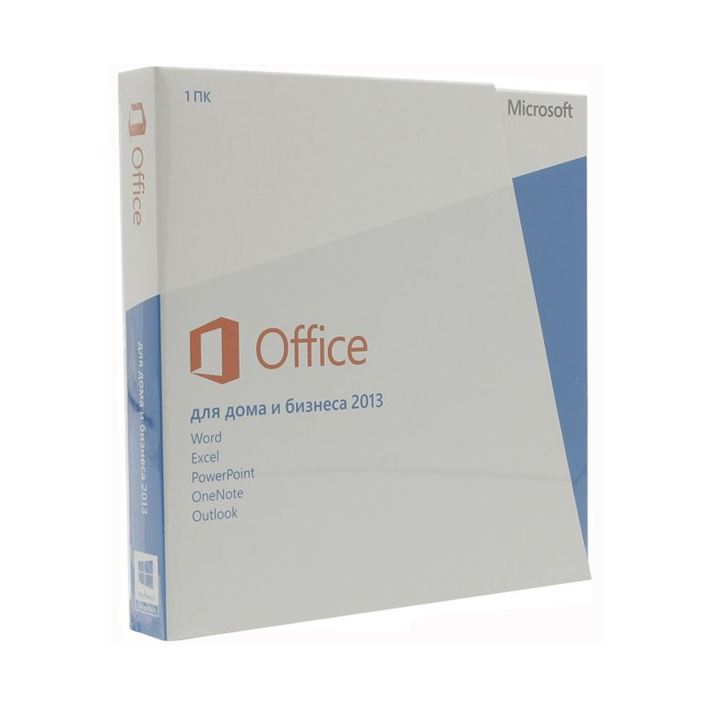 Microsoft Office 2013 BOX Home And Business X32/x64 Rus